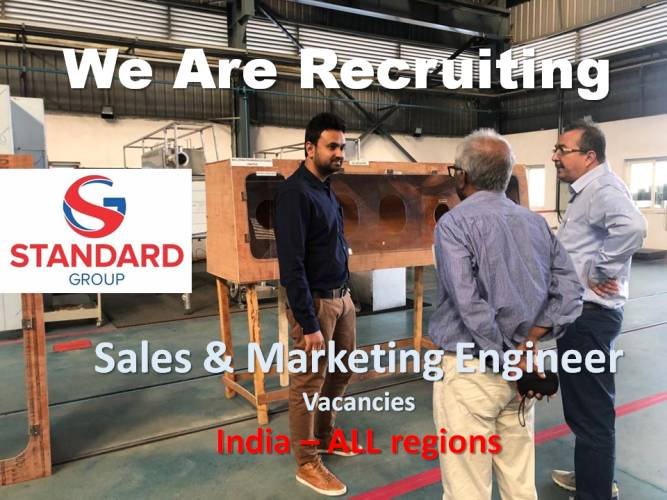 Standard group sales marketing vacanies
